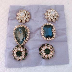 Multipurpose brooches/earrings